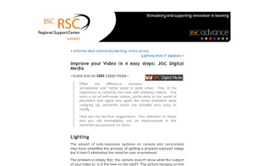 http://rsclondonnews.blog.ulcc.ac.uk/2011/08/10/improve-your-video-in-4-easy-steps-jisc-digital-media/