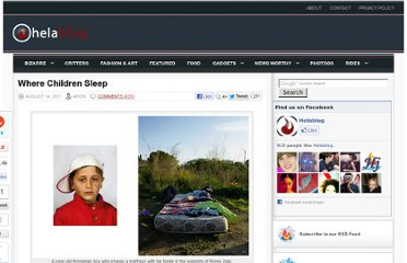 http://helablog.com/2011/08/where-children-sleep/