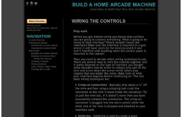 http://buildahomearcade.com/main-guide/building-the-control-panel/wiring-the-controls