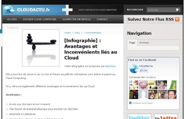 http://www.cloudactu.fr/infographie-avantages-et-inconvenients-lies-au-cloud/