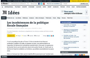 http://www.lemonde.fr/idees/article/2011/08/18/y-a-t-il-une-politique-fiscale-en-france_1560390_3232.html#ens_id=1560646