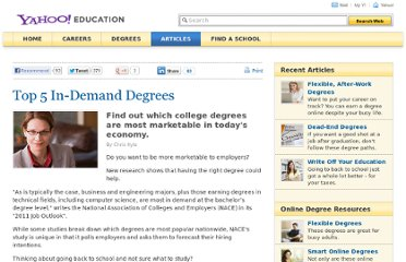 http://education.yahoo.net/articles/top_5_in-demand_degrees.htm
