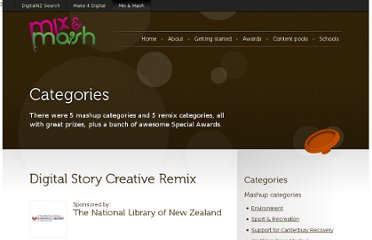 http://www.mixandmash.org.nz/the-competition/categories/remix/digital-story/