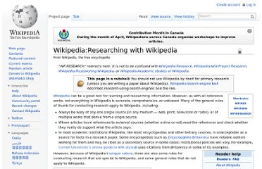 http://en.wikipedia.org/wiki/Wikipedia:Researching_with_Wikipedia