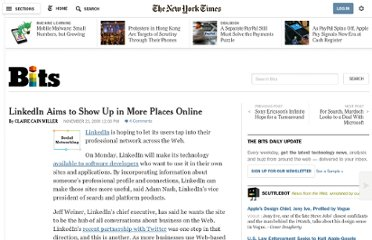 http://bits.blogs.nytimes.com/2009/11/23/linkedin-aims-to-show-up-in-more-places-online/