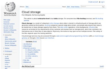 http://en.wikipedia.org/wiki/Cloud_storage