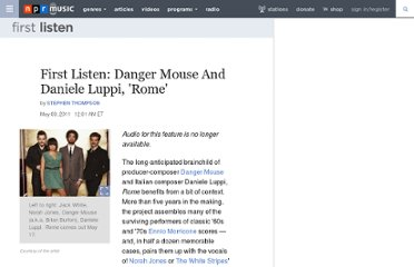 http://www.npr.org/2011/05/31/136094599/first-listen-danger-mouse-and-daniele-luppi-rome