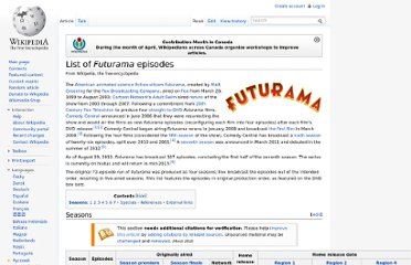 http://en.wikipedia.org/wiki/List_of_Futurama_episodes