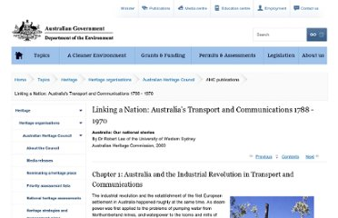 http://www.environment.gov.au/heritage/ahc/publications/commission/books/linking-a-nation/chapter-1.html