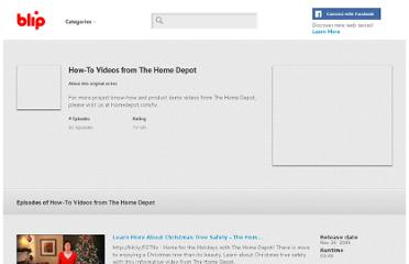http://blip.tv/howto-videos-from-the-home-depot