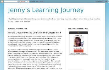 http://jennyslearningjourney.blogspot.com/2011/08/would-google-plus-be-useful-in.html