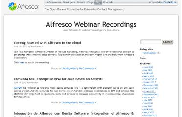 http://blogs.alfresco.com/wp/webcasts/