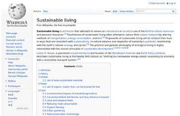 http://en.wikipedia.org/wiki/Sustainable_living