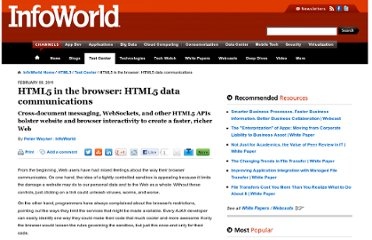 http://www.infoworld.com/d/html5/html5-in-the-browser-html5-data-communications-832