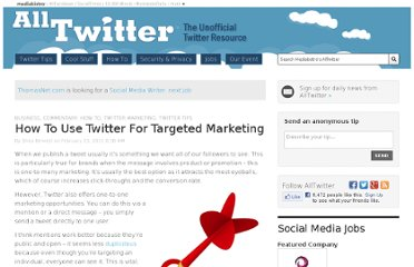 http://www.mediabistro.com/alltwitter/twitter-targeted-marketing_b6055
