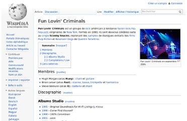 http://fr.wikipedia.org/wiki/Fun_Lovin%27_Criminals