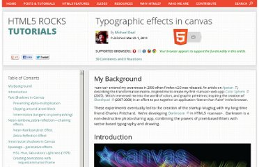 http://www.html5rocks.com/en/tutorials/canvas/texteffects/