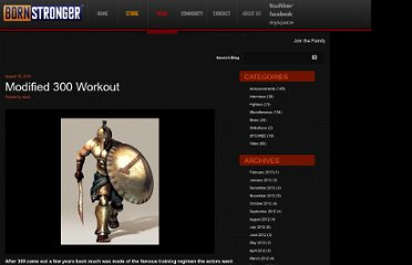 http://bornstronger.com/blog/2010/08/16/modified-300-workout