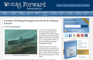 http://www.writingforward.com/writing-prompts-3/creative-writing-prompts/creative-writing-prompts-for-sci-fi-fantasy-lovers