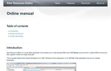 http://www.zeta-resource-editor.com/online-manual.html