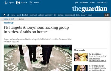 http://www.guardian.co.uk/world/2011/jul/19/anonymous-hackers-arrested-fbi-raids