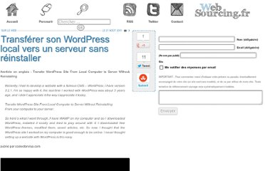 http://blog.websourcing.fr/ontheweb/transferer-son-wordpress-local-vers-serveur-sans-reinstaller/
