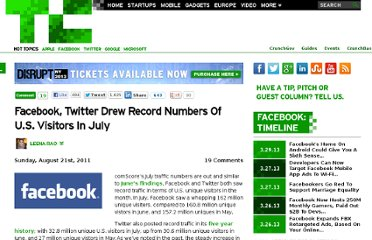 http://techcrunch.com/2011/08/21/facebook-twitter-saw-record-numbers-of-u-s-visitors-in-july/