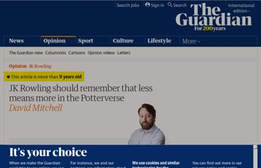 http://www.guardian.co.uk/commentisfree/2011/aug/21/jk-rowling-harry-potter-pottermore