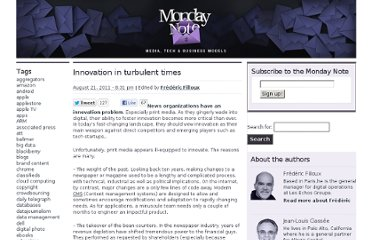 http://www.mondaynote.com/2011/08/21/innovation-in-turbulent-times/