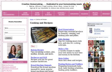 http://www.creativehomemaking.com/recipes_1.shtml