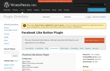 http://wordpress.org/extend/plugins/facebook-like-button-plugin/screenshots/