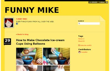 http://funnymike.posterous.com/how-to-make-chocolate-ice-cream-cups-using-ba