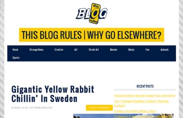 http://www.thisblogrules.com/2011/08/gigantic-yellow-rabbit-chilling-in-sweden.html