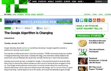 http://techcrunch.com/2008/01/01/the-google-algorithm-is-changing/
