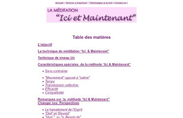 http://www.hereandnowmeditation.com/French/booklet.html