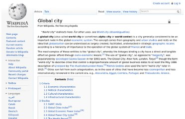 http://en.wikipedia.org/wiki/Global_city