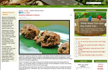 http://www.wholegraingourmet.com/recipes/43-cookies/58-healthy-oatmeal-cookies.html