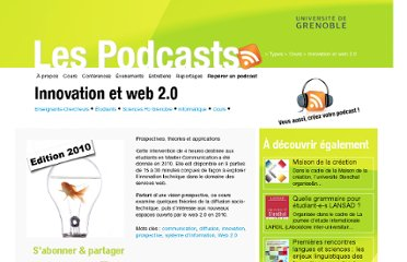 http://podcast.grenet.fr/podcast/innovation-et-web-2-0/
