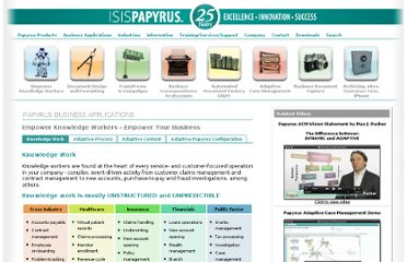 http://www.isis-papyrus.com/e10/pages/businessapps/2/knowledgeworker.html