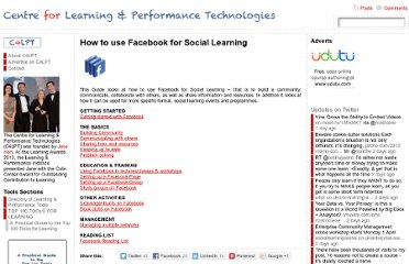 http://c4lpt.co.uk/social-media/how-to-use-facebook-for-social-learning/