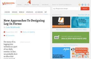 http://uxdesign.smashingmagazine.com/2011/08/22/new-approaches-to-designing-login-forms/