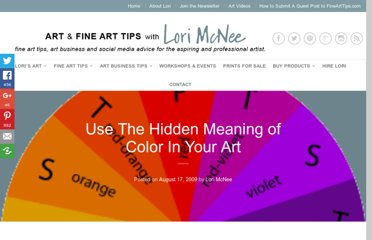 http://www.finearttips.com/2009/08/use-the-hidden-meaning-of-color-in-your-art/