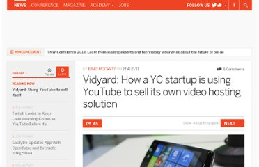 http://thenextweb.com/insider/2011/08/22/vidyard-how-a-yc-startup-is-using-youtube-to-sell-its-own-video-hosting-solution/