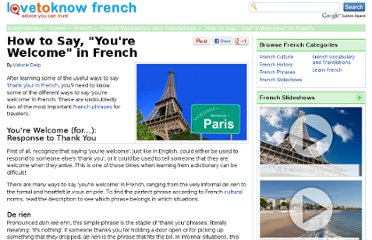http://french.lovetoknow.com/You%27re_Welcome_in_French