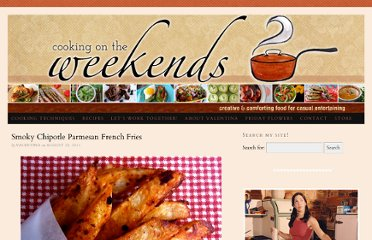 http://cookingontheweekends.com/2011/08/smoky-chipotle-parmesan-french-fries/