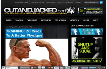 http://www.cutandjacked.com/TRAINING-20-Rules-To-A-Better-Physique