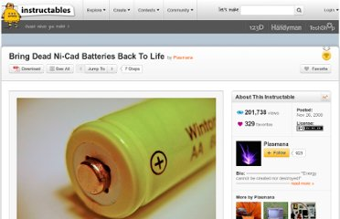 http://www.instructables.com/id/Bring-Dead-Ni-Cad-Batteries-Back-To-Life/