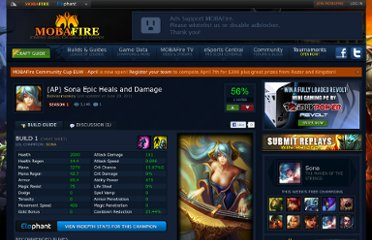 http://www.mobafire.com/league-of-legends/build/ap-sona-epic-heals-and-damage-94204