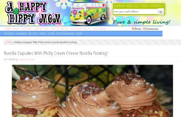 http://www.ahappyhippymom.com/2011/08/nutella-cupcakes-with-philly-cream-cheese-nutella-frosting.html