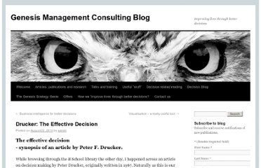 http://www.genesismc.co.uk/blog/drucker-effective-decision/